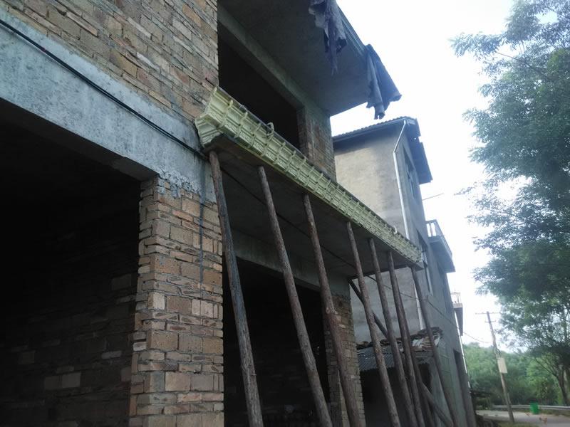 欧式房屋檐线条二次安装示例图片